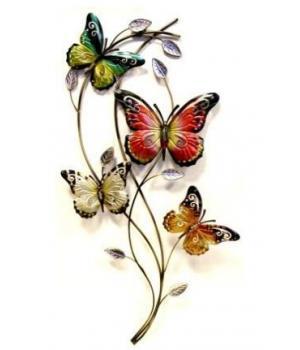 """Декор настен """"Бабочки"""" (82*37*5см) HJ-49826"""