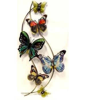 """Декор настен """"Бабочки"""" (80*41*5см) HJ-49827"""