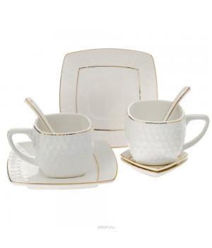 2/8 набор чайный 200мл ф. квадр. п/у снежная королева