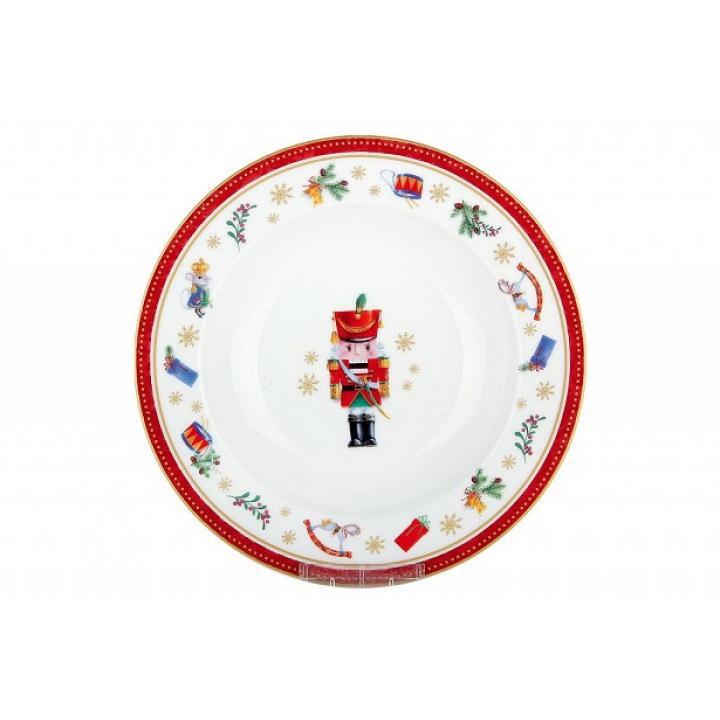 Тарелка суповая 21,5см Щелкунчик и мышиный король В0943-А07055