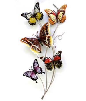 """Декор настен """"Бабочки"""" (72*37*3см) HJ-53547"""