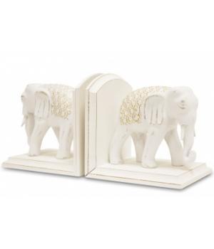 """Подставка для книг """" Слоны"""" .Размер: 15x15x12см"""