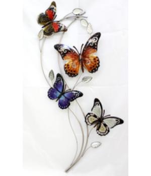 """Декор настен """"Бабочки"""" (82*34*3см) HJ-53556"""