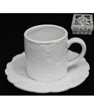 110165 Чашка с блюдцем ДОЛИНА РОЗ в под.упак (х32)