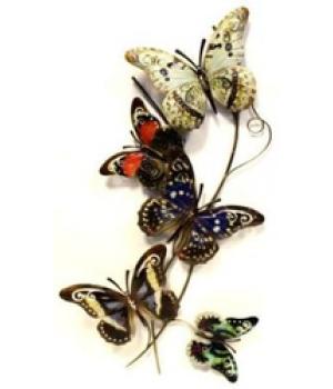 """Декор настен """"Бабочки"""" (77*42*5см) HJ-49828"""