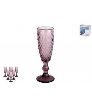 Набор бокалов 1/6 150мл. Гвент фиолетовый