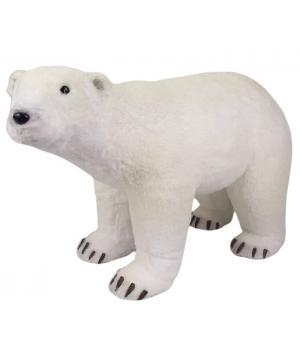"""111-125 Фигура """"Белый медведь"""" высота 34см, 58х24,5см"""